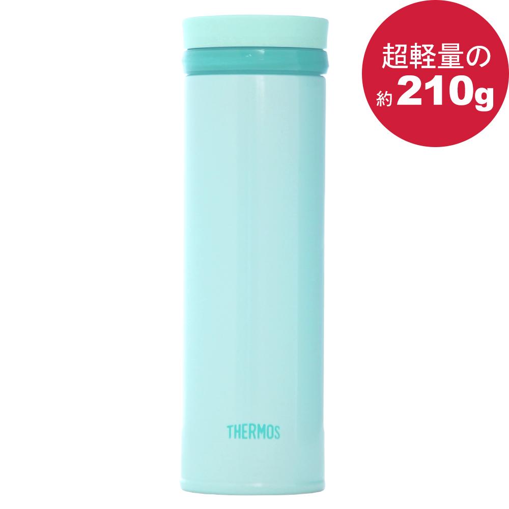 THERMOS 膳魔師 極輕量不鏽鋼真空保溫杯500ml-薄荷綠色【JNO-501】(MF0359G)
