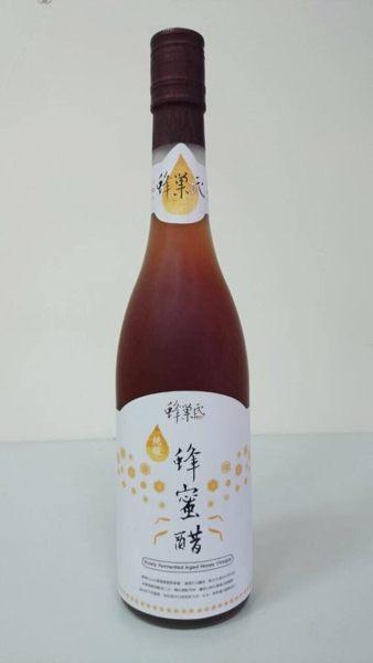 蜂巢氏 純釀造陳年蜂蜜醋 600ml/瓶 不添加酒精及化學原料 (分1入.6入與12入三種規格)