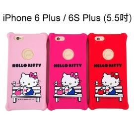 Hello Kitty防震矽膠保護套 [午茶] iPhone 6 Plus / 6S Plus (5.5吋)【三麗鷗正版授權】