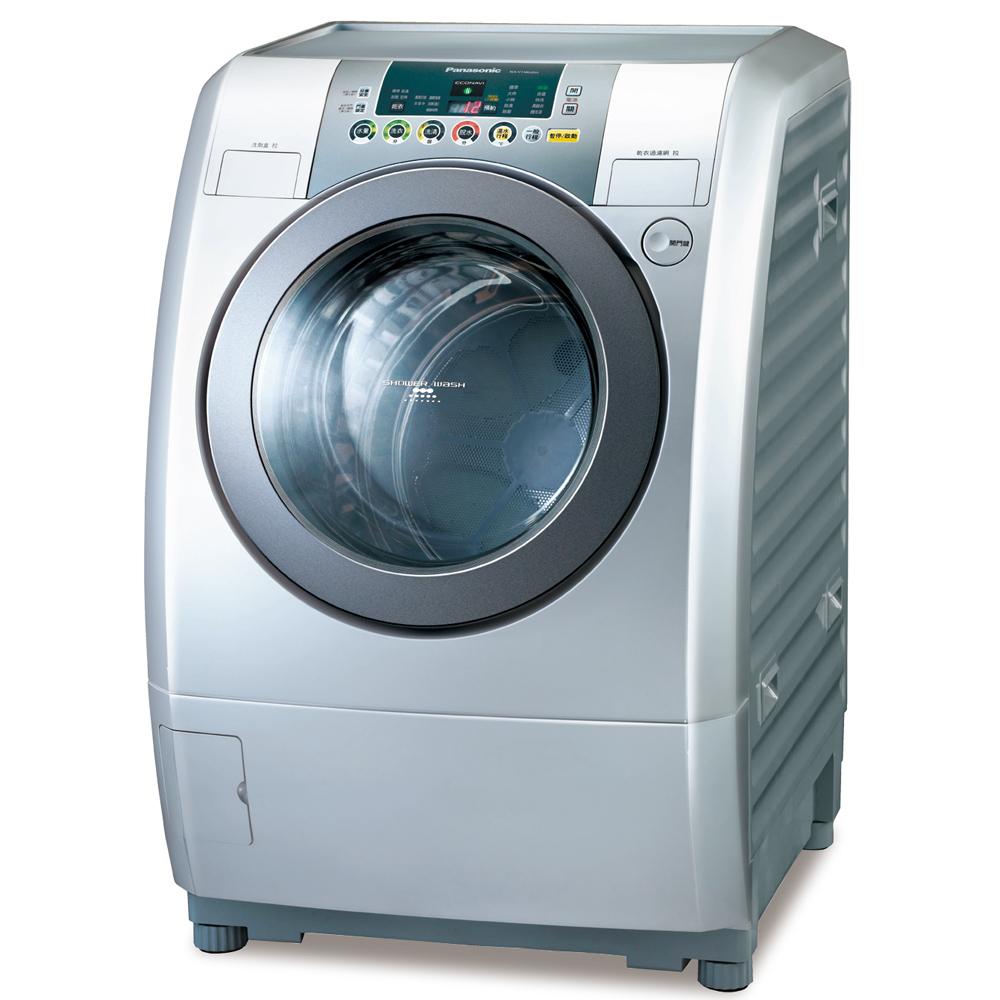 Panasonic 國際牌 14kg變頻滾筒式洗衣烘衣機NA-V158UDH-L ★杰米家電☆