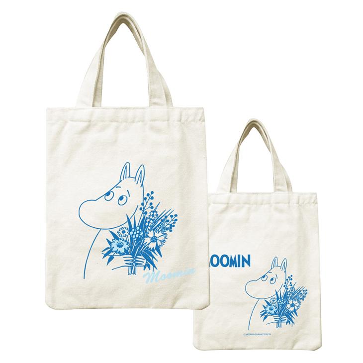 Moomin嚕嚕米正版授權 - 帆布包:【 Moomin 】