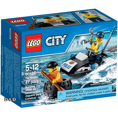樂高積木LEGO《 LT60126 》2016 年 CITY 城市系列 - 汽車大逃亡