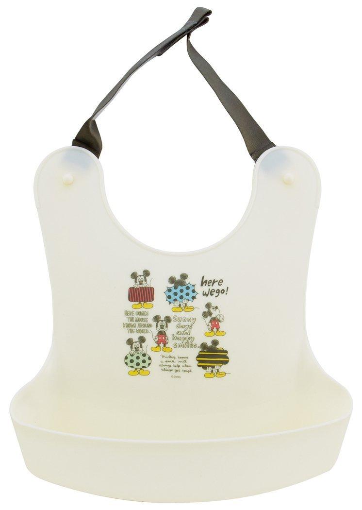 日本 SKATER 迪士尼米奇幼兒餐用圍兜
