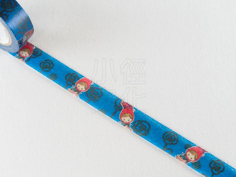 *小徑文化*日本進口紙膠帶 Shinzi Katoh 加藤真治 小紅帽系列 ( ks-mt-10123 )