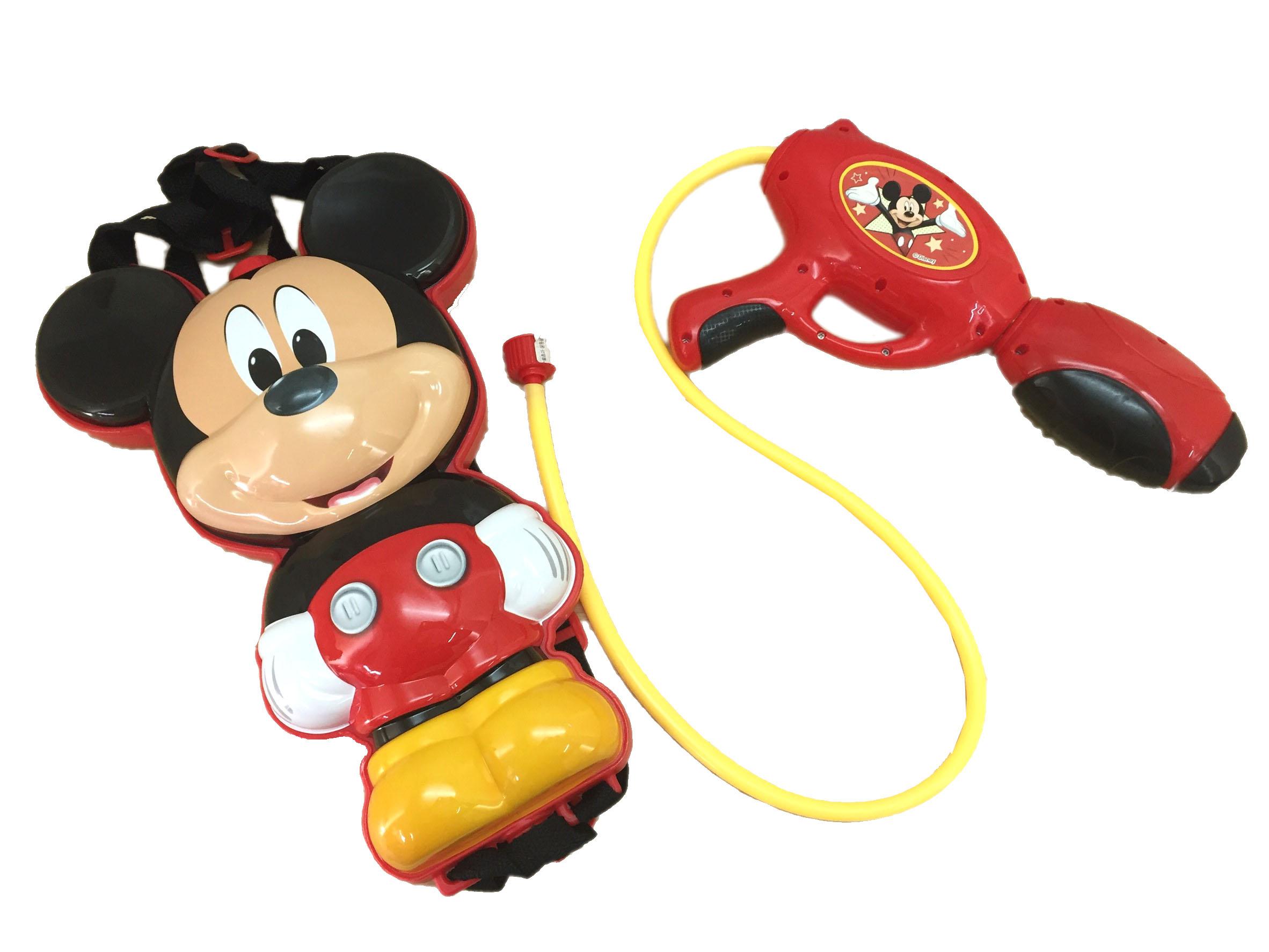 【真愛日本】16071300013後背包水槍玩具-MK立體娃 迪士尼 米老鼠米奇 米妮  兒童玩具 正品 限量
