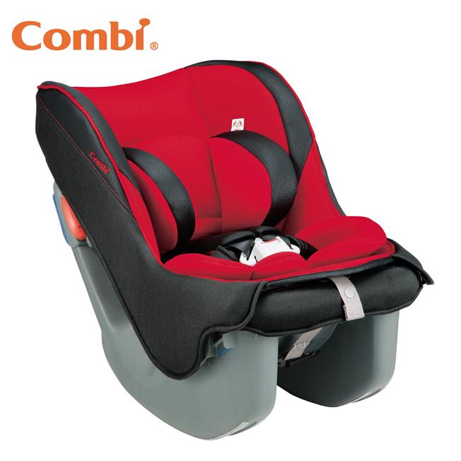 *加贈新圍兜離乳餐具組* Combi康貝 - Coccoro II EG 0-4歲汽車安全座椅(汽座) -薔薇紅