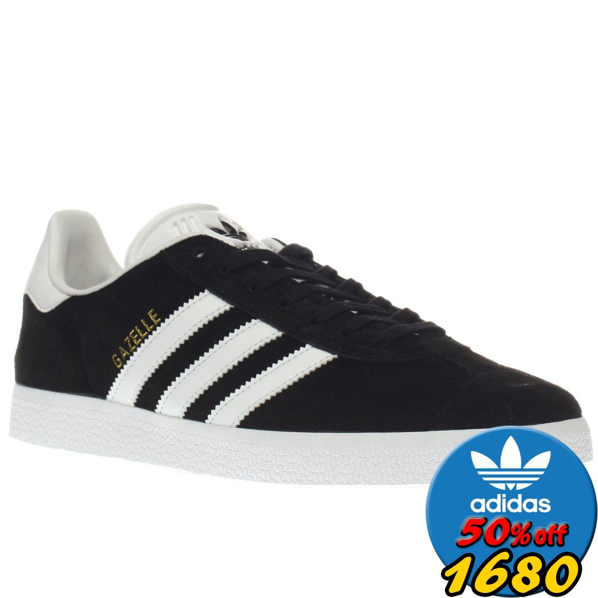 歲末出清Adidas GAZELLE SHOES 街頭經典 愛迪達 黑白 復古百搭 金標 陳奕迅 休閒鞋