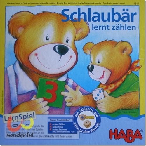 HABA 數數熊學習型桌戲