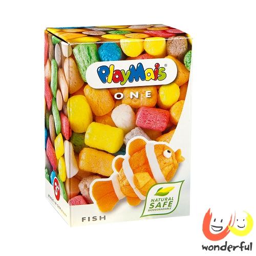 Playmais 玩玉米創意黏土小巧盒-魚