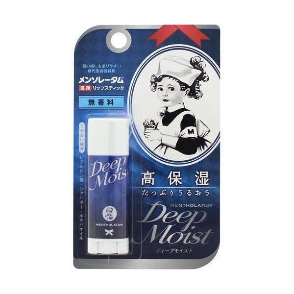 日本 MENTHOLATUM 深層保濕護唇膏 4.5g *夏日微風*