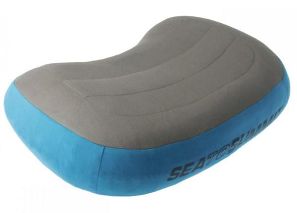 【鄉野情戶外用品店】 Sea To Summit|澳洲| AEROS PREMIUM PILLOW 50D 充氣枕(標準) /充氣枕頭-藍/灰/APILPREMRG