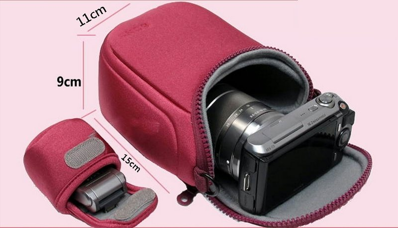 攝彩@Sony 索尼微單眼相機包A6000 A5000 NEX-7 H50 HX1 HX100 HX200 類單眼-20201