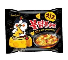【橘町五丁目】韓國 三養噴火辣雞肉起司風味炒麵泡麵-單袋入