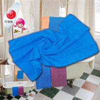 布工道-超細纖維 毛巾、乾髮巾、擦拭布,48cm x 90cm,乾、濕皆可用,多用途清潔(藍色、紫紅色擇一)