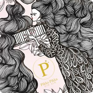 『樂魔派』日本製造 PIKKA PIKKA 超細纖維布料 魔法唇蜜 插畫 清潔布螢幕擦眼鏡布