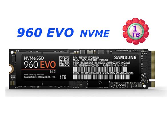 SAMSUNG SSD 1TB 1T 960 EVO【MZ-V6E1T0BW】M.2 NVMe 固態硬碟
