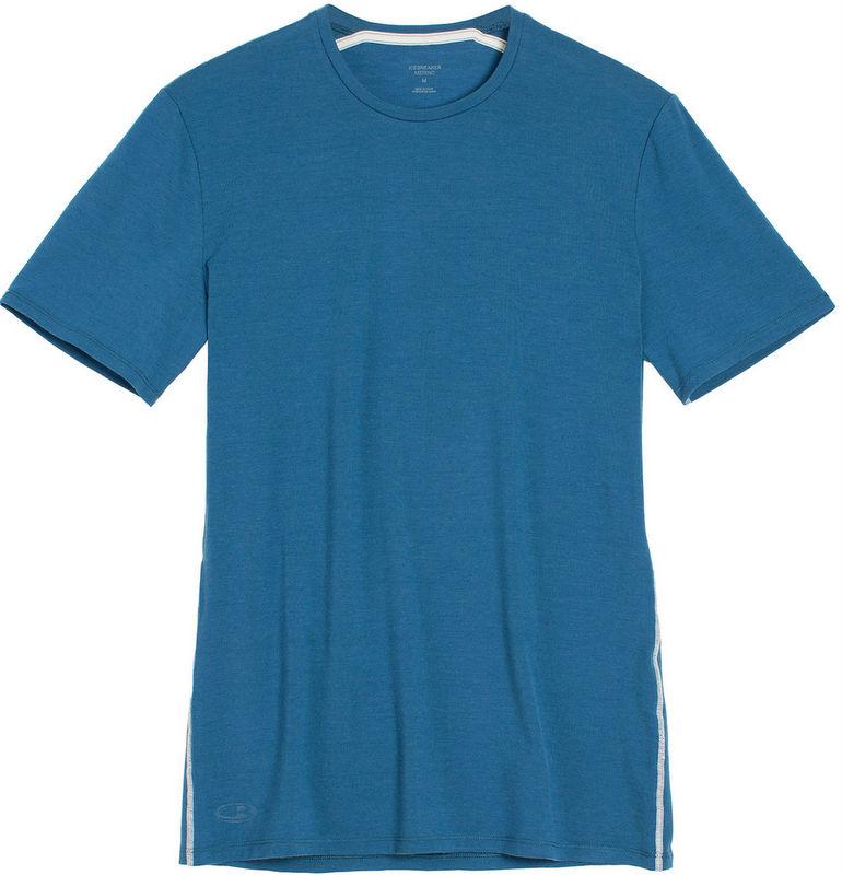Icebreaker 排汗衣/短袖T恤/美麗諾羊毛 Anatomica BF150男款 103033-403 海岸藍