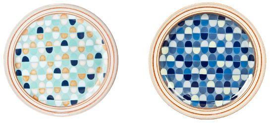 英國Denby經典系列-22.5cm馬賽克點心盤(共兩色可選)