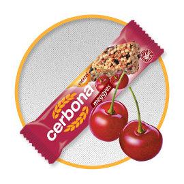 歐洲CERBONA低負擔纖果棒-櫻桃口味x20條 甜馨營養中心