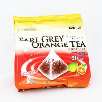 【敵富朗超巿】國太樓 立體三角包格雷伯爵紅茶-柳橙