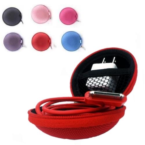 耳機硬殼收納盒 / 耳機保護殼 / 配件收納盒 / 硬盒收納盒