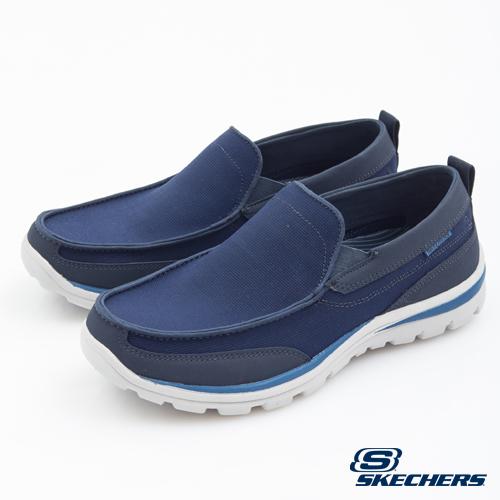 [陽光樂活] SKECHERS 男 個性休閒系列 走路鞋 SUPERIOR 64481NVBL