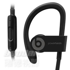 【曜德★送BeatsT恤】Beats Powerbeats 3 Wireless 黑 無線藍芽 運動型耳掛式耳機 防汗 ★ 免運 ★