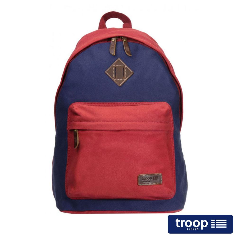 【TROOP】簡約休閒HERITAGE後背包/TRP0384RY