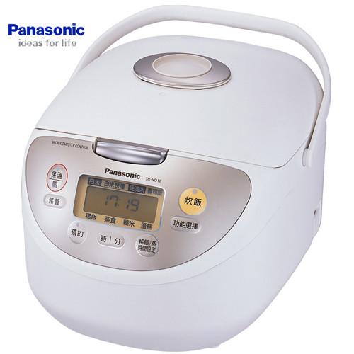 Panasonic 國際 SR-ND10 電子鍋 6人份 鑽石微粒備長炭內鍋