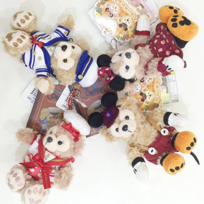 Duffy 達菲熊 吊飾 日本海洋迪士尼帶回 水手服 萬聖節 米奇米妮 十周年 附專賣店禮物袋 配件 JustGirl