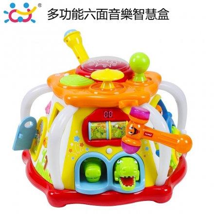小天地奇趣 16合1 多功能六面益智學習玩具 益智玩具【六甲媽咪】