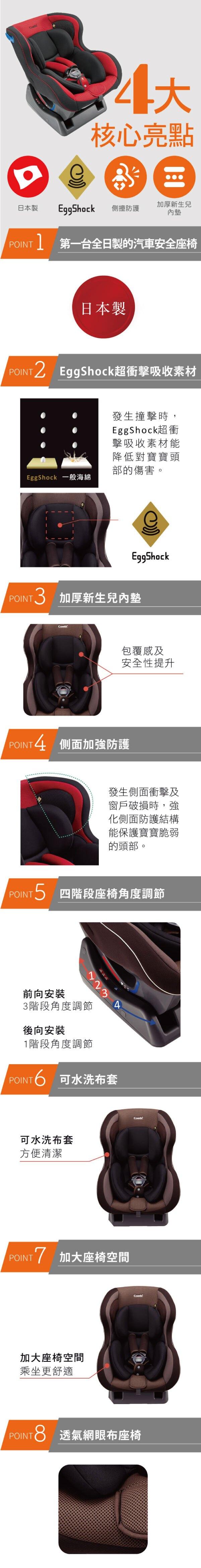 Combi WEGO 汽座/安全座椅
