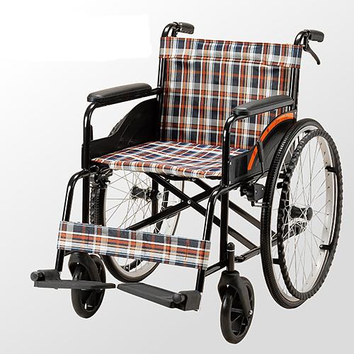 均佳 機械式輪椅(未滅菌) 鐵製 JW-001
