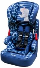 *babygo*法國 NANIA 納尼亞旗艦0-4歲安全汽座-卡通動物系列【大象藍】FB00316
