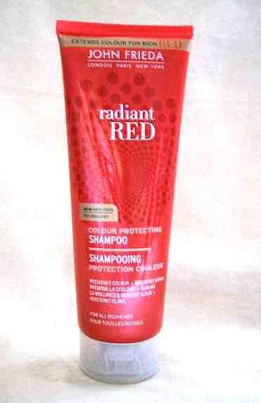 *Realhome* 英國專業 JOHN FRIEDA ~Red 紅髮染髮用~ 洗髮標區