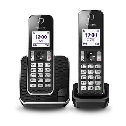 Panasonic國際牌 數位無線電話KX-TGD312TWB ★杰米家電☆