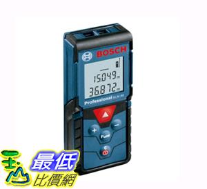 [COSCO代購如果沒搶到鄭重道歉] BOSCH GLM 4000 40公尺專業掌上型雷射測距儀 W106587