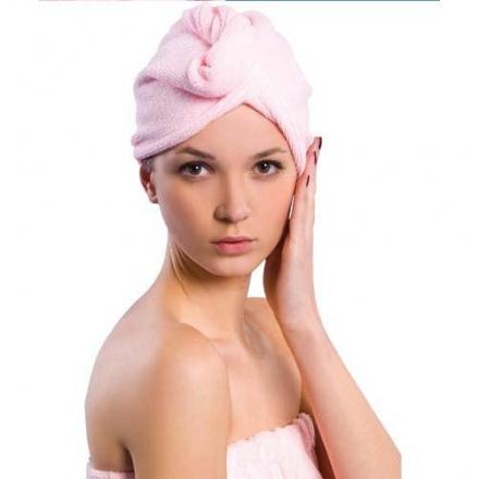【任3件$99】美妝小物 - 神奇超細纖維乾髮帽,7倍超強吸水免吹風