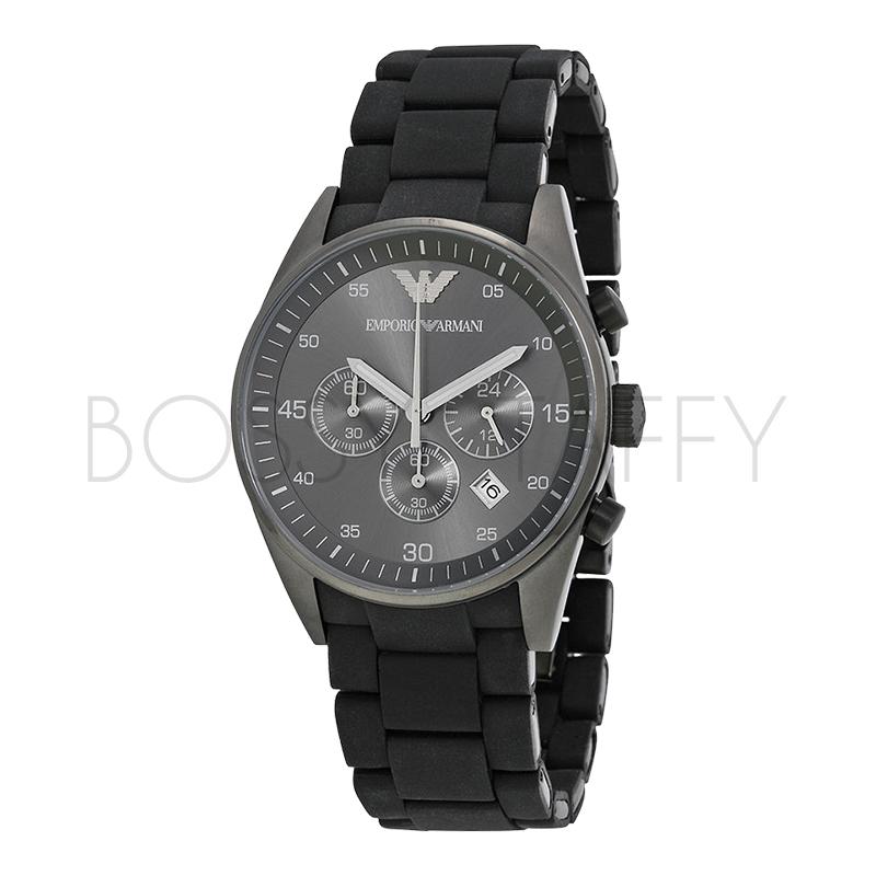 AR5889 ARMANI 亞曼尼 三眼計時夜光商務石英錶 男錶