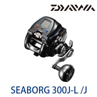 漁拓釣具 DAIWA SEABORG 300J 右手捲