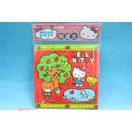Hello Kitty凱蒂貓拼圖C678061 世一KT16片入幼兒拼圖(郊遊去)MIT製/一個入{特50}~正版授權~