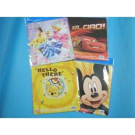 滑鼠墊 迪士尼卡通滑鼠墊PVC光學專用(混款){促30}一包/ 12個入