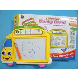 汽車彩色磁粉畫板 磁粉白板環保白板 磁性寫字板30cm x23cm(特大)/一個入{促350}