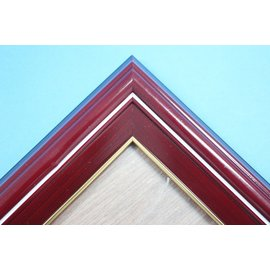 A4獎狀框 證書框 相框 相框 海報框(優仕326紅木)A級29.7cm x 21cm(原木紅木條)/一個入{促199}