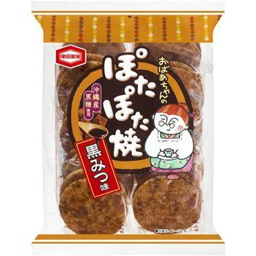 龜田婆婆燒米果-黑蜜140g