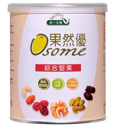 統一生機~果然優綜合堅果360公克/罐