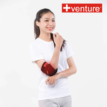 【+venture】家用手肘熱敷墊(KB-1260),加贈行動收納包