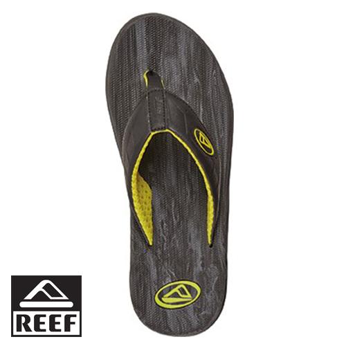 【專區全面75折↘】REEF 輕量化 支撐足弓鞋床穿著無負擔男款人字拖.灰/黃