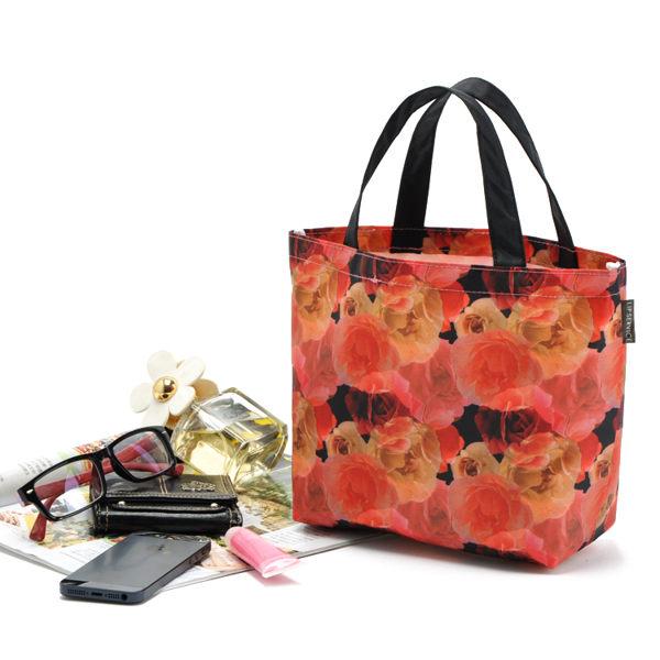 小熊日系* 渲染印花 防水 手提 小提袋 便當袋 手提包 收納包 午餐袋