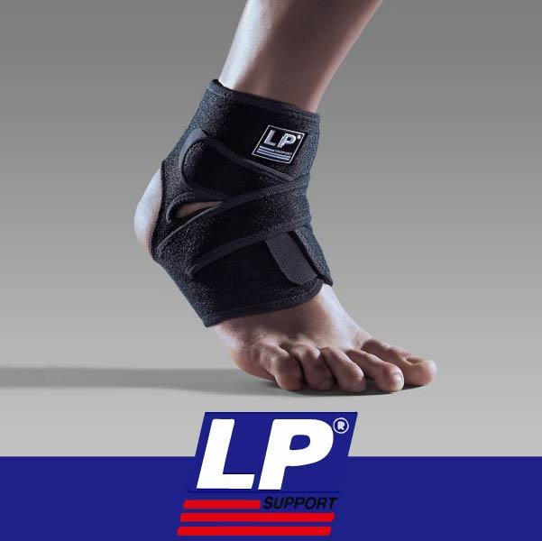 萬特戶外運動 LP護具 757CA 高透氣分段可調式踝束套 COOLMAX 乾爽 黑色